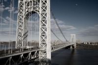 the most beautiful bridge in the world, the exquisite GWB