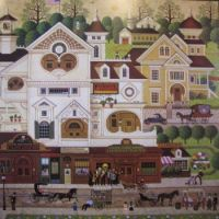 z {Charles Wysocki} And the Band Played On