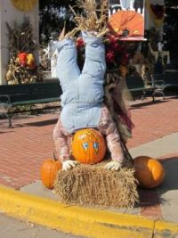 One of Wabasha MN Fall Decorations