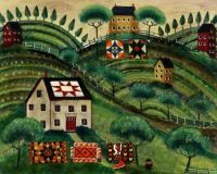 Quilts & Houses - Cheryl Bartley