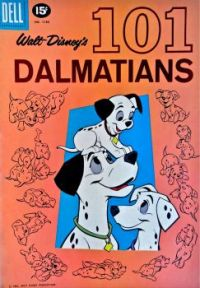 Walt Disney's 101 DALMATIANS - 1961 DELL COMIC