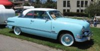 1951 Ford Victoria Baby Blue