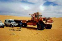 Oilfield supply truck Ubari/Libya