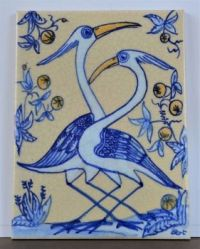 Hand Painted Portuguese Tile