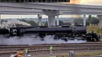 """""""steamer"""" UP-4014 at Ft Worth TX/USA 120-pc"""