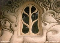 Somerset, England cob house window D (larger)