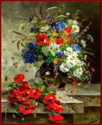 Still Life with Summer Flowers