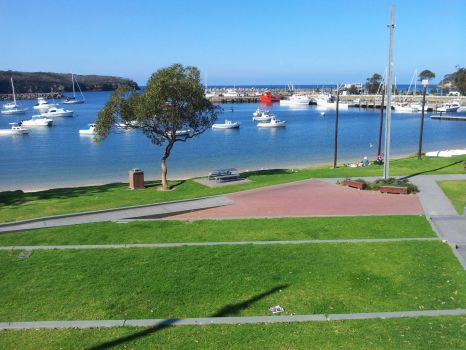 Ulladulla harbour, New South Wales