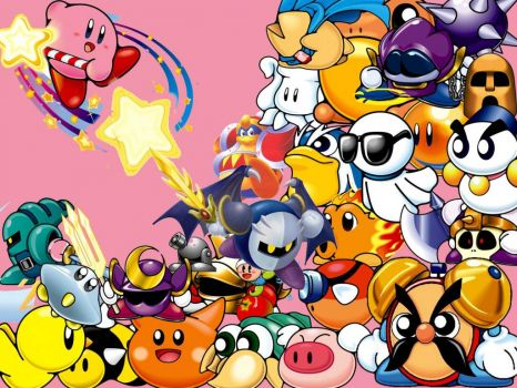 Kirby and Enemies