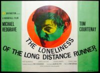 THE LONELINESS OF THE LONG DISTANCE RUNNER - 1962 UK POSTER TOM COURTENAY, MICHAEL REDGRAVE