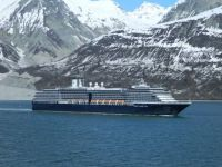 Westerdam cruise ship in Glacier Bay, Alaska