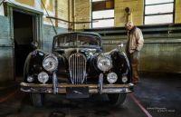 Bruce Walczak and Antique Jaguar