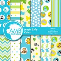 Jungle Baby Papers