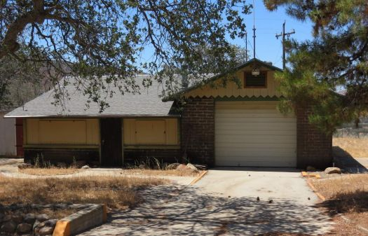 Abandoned California Division Of Forestry Fire Station