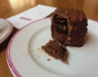 Salted Caramel Chocolate Cube