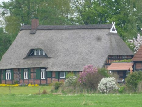 Old farmhouse, near Bremen 1