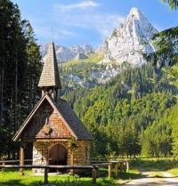 Tiny Chapel in the Mountains....