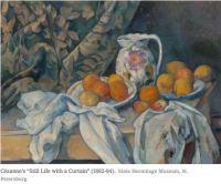 "Cezanne's ""Still Life with a Curtain"""