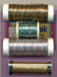 Beautiful metallic thread