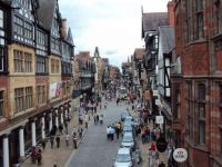 View from the Eastgate - Chester