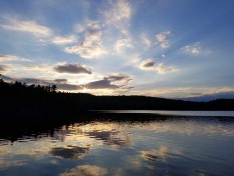 Sunset on the Pond - July 2020