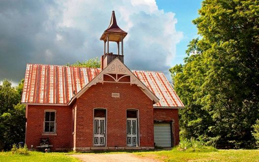 Old School House, Lyndhurst, Ontario