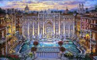 Trevi Fountain, Rome Italy by Robert Finale