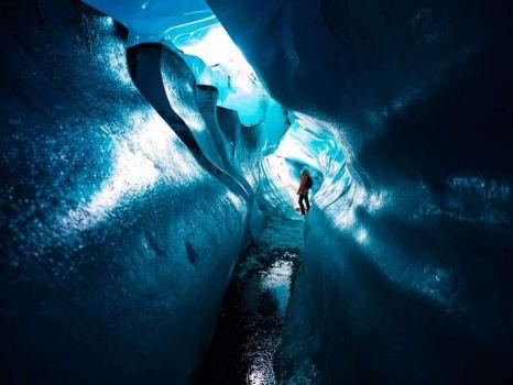 Svinafellsjökull Ice Cave