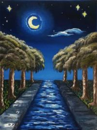 The Starry Canal ~ MELANIEJOY, easy