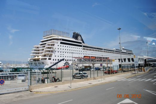 MSC Sinfonia in Mallorca
