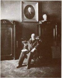 Anton Bruckner (1824-1896), photograph (1890), by Ludwig Grillich (1856-1913)