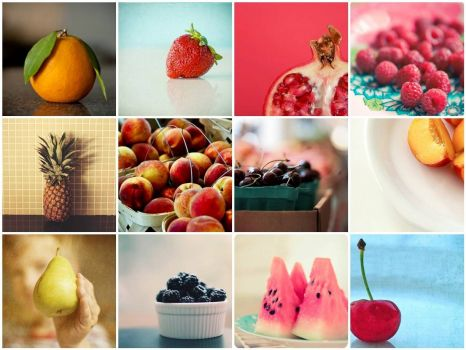 things i love thursday- FRUIT, by ginnerobot on flickr