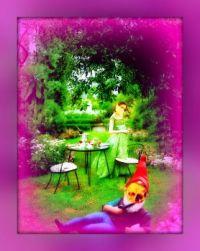 Chillin' In The Garden.......