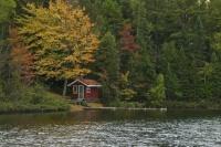 A little fishing cottage on Arfelin Lake