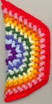 Rainbow hot pad