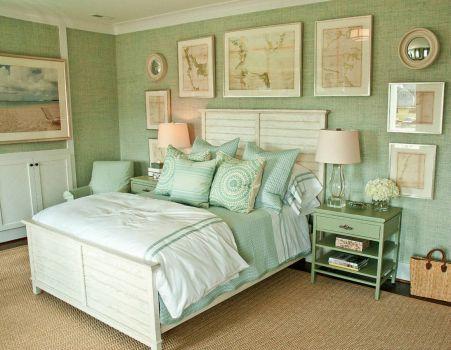 Serene Green Bedroom