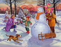 'Family Fun In The Snow' by Valerian Ruppert