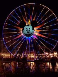 Disneys California Adventure ferris wheel