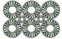 Optical Gears illusion
