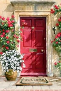 Welcome Red Door