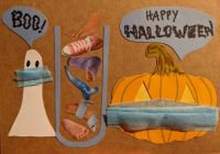Pandemic Halloween Card