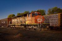 GTW(CN) train L521 CN SD40-2W 5299