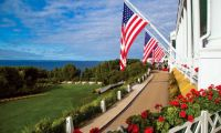 The Grand Hotel on Mackinaw Island, MI