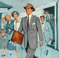 Vintage Suit Ad