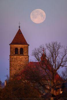 Vyskeř kostel Nanebevzetí panny Marie