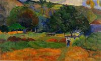 The Little Valley, Paul Gauguin