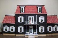 christmas doll house