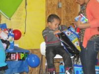 Isiah opening presents