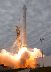 SpaceX CRS-2 Launch, 1 Mar 2013