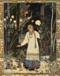 Ivan Bilibin - Vasilisa the Beautiful